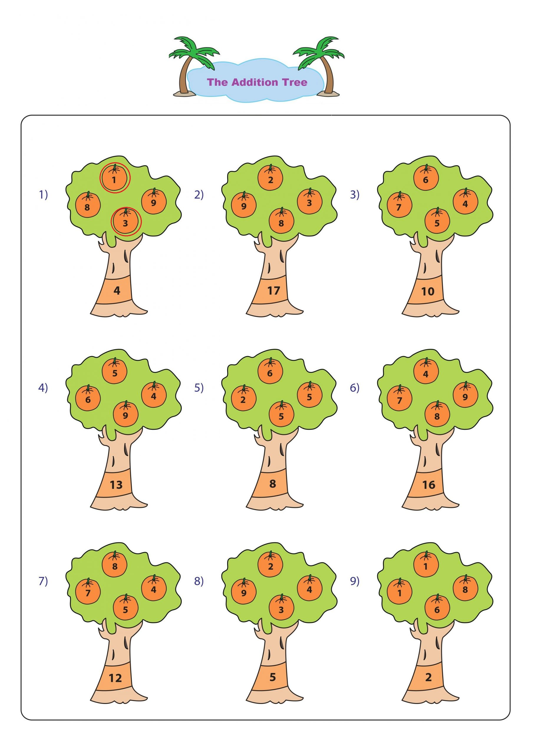 The Addition Tree 2