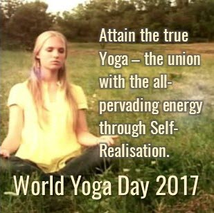Events for World Yoga Day  – 24 & 25 June, 2017