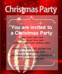 Sample invitation card for christmas party merry christmas and more from this website invitation card for christmas stopboris Images