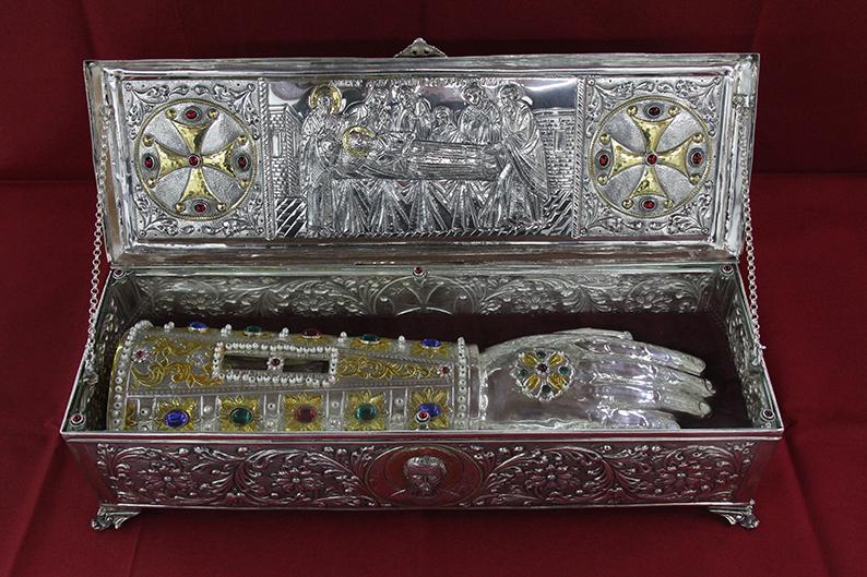 Αποτέλεσμα εικόνας για ανακομιδή Ιερών Λειψάνων του Αγίου Ιωάννη Χρυσοστόμου