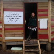 Marianne at the legal clinic