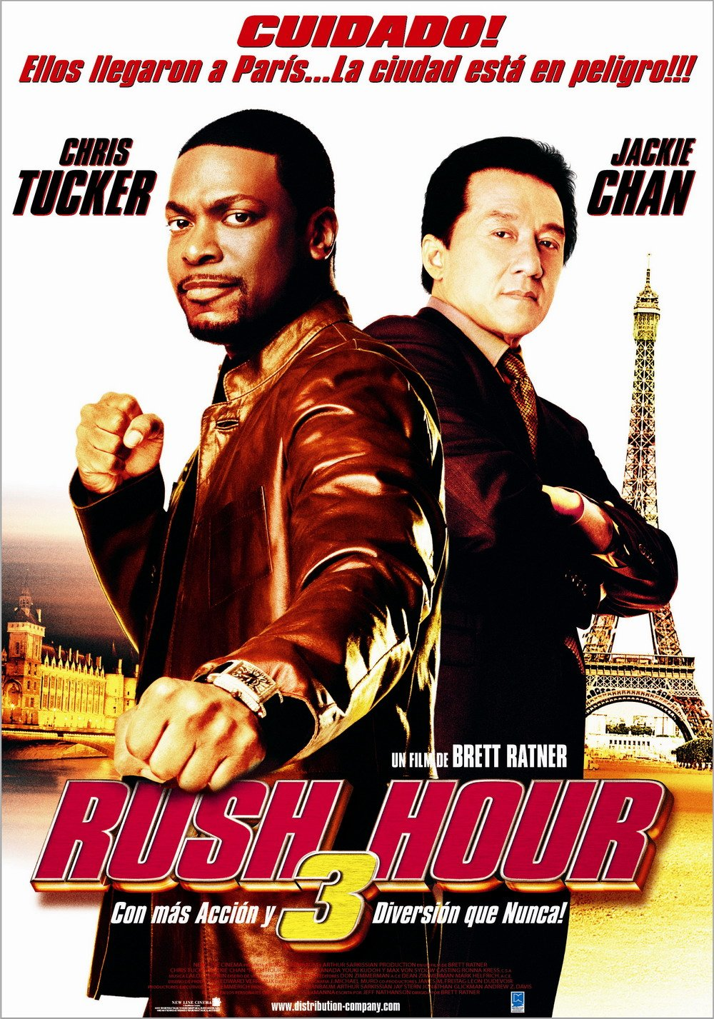 Image result for RUSH HOUR 3 ( 2007 ) POSTER