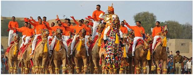 The Jaisalmer Desert festival