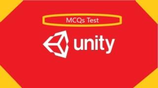 MCQs test of Unity (Game Engine)-Intermediate/Advanced Level