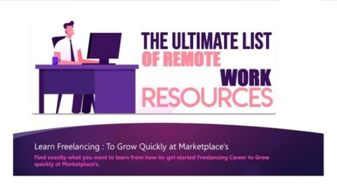 Learn Freelancing : To Grow Quickly at Marketplace's