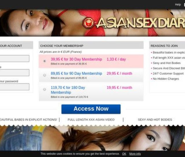 Free Asiansexdiary Com Porn Accounts