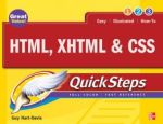HTML, XHTML & CSS QuickSteps