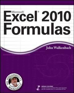 Excel 2010 formulas