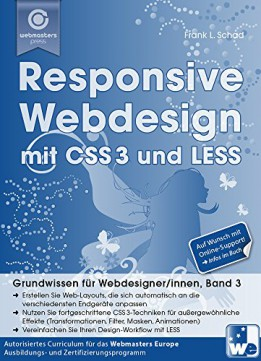 Responsive Webdesign Mit Css3 Und Less