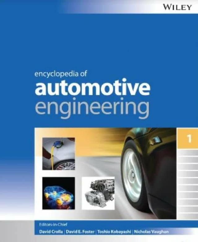 Encyclopedia of Automotive Engineering