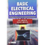 BASIC ELECTRICAL ENGINEERING By V.K.Mehta S.Chand