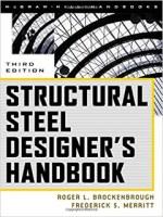 Structural Steel Designer's Handbook PDF