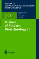 History Of Modern Biotechnology II – Springer