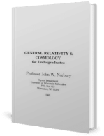 General Relativity and Cosmology for Undergraduates – J. Norbury