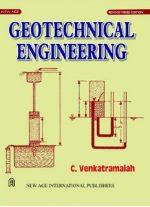 Geotechnical Engineering by C Venkataramaiah