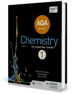 Aqa a Level Chemistry Student book 1 UK Edition by McFarland, Quigg and Henry