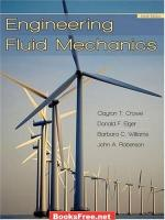 Engineering Fluid Mechanics by Clayton T.Crowe, Donald F.Elger