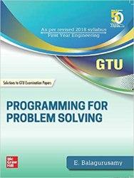 Programming for Problem Solving GTU Book (3110003) Book Pdf Free Download