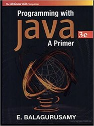 Programming With Java: A Primer Book Pdf Free Download