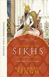 A History of the Sikhs (1839-2004)- Vol 2 Book Pdf Free Download