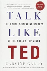 Talk Like TED: The 9 Public-Speaking Secrets of the World's Top Minds book pdf free download