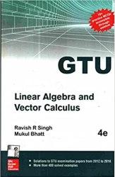 Linear Algebra and Vector Calculus GTU Book (2110015) Book Pdf Free Download