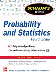 Schaum's Outline of Probability and Statistics Book Pdf Free Download