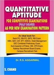 Quantitative Aptitude for Competitive Examinations Book Pdf Free Download