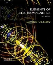 Elements of Electromagnetics Book Pdf Free Download