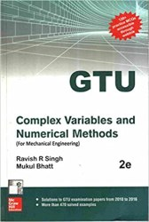 Complex Variables And Numerical Methods GTU Book (2141905) Pdf Free Download