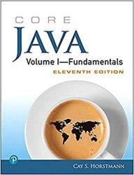 Core Java Volume I - Fundamentals Book Pdf Free Download
