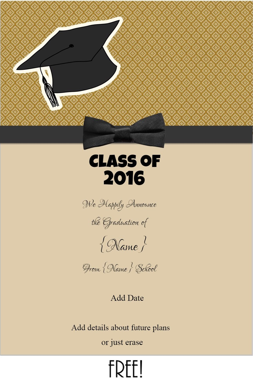 Personalized Invitations Graduation