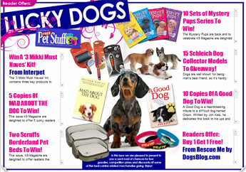 Just one of many FREE pet offers exclusive to K9 Magazine members!