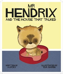 Mr Hendrix and The House that Talks Front Cover
