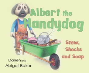 Albert the Handydog book cover