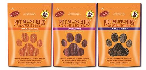Pet Munchies dog treats strips