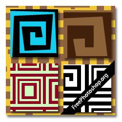 Photoshop Greek Patterns