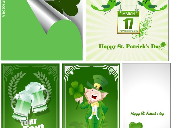 Free St. Patrick's Day Vectors and Backgrounds