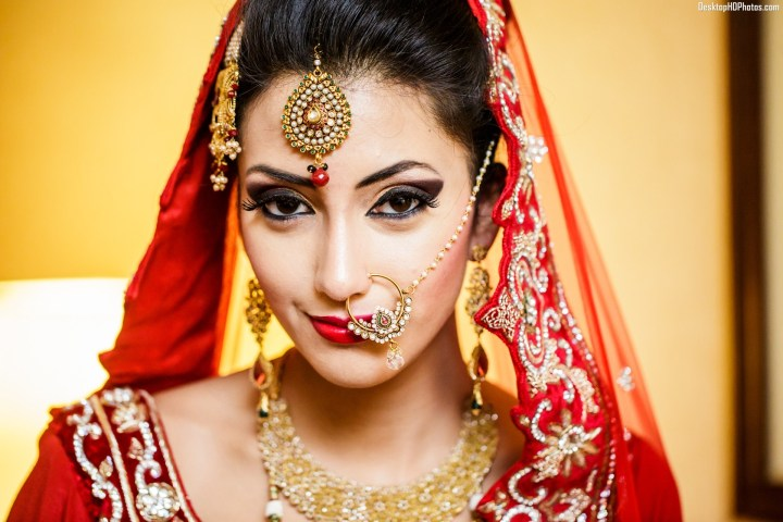 Indian Bridal Makeup With Heavy Jewelry 33 Free All Items