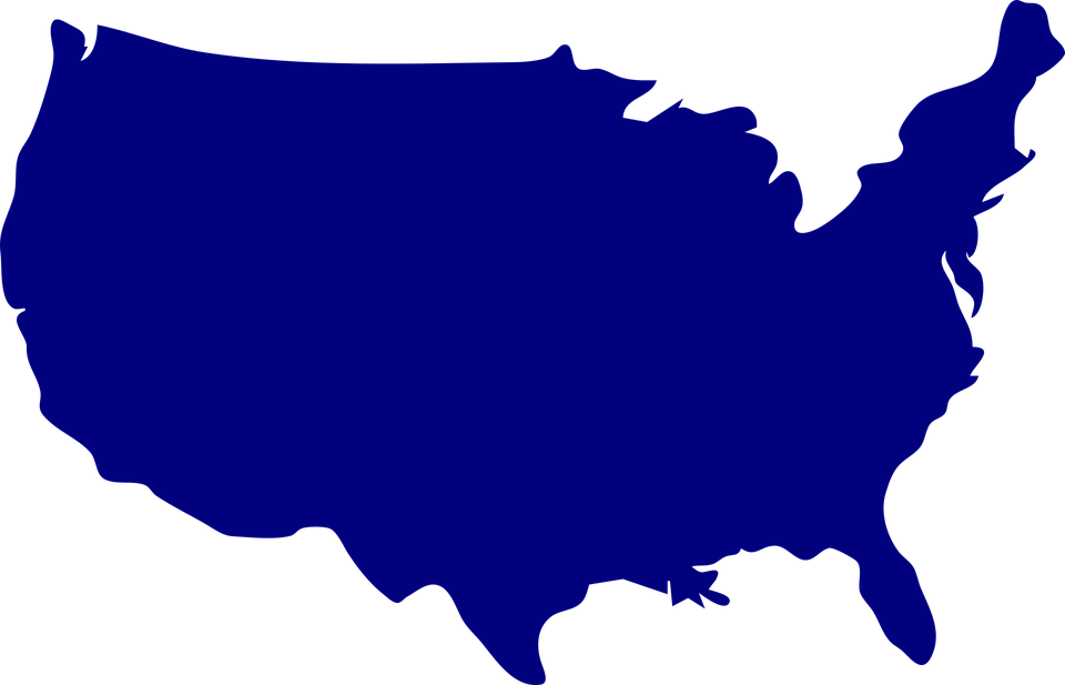 There are 310 cities in the united states with a population of 100,000 or more, according to 2018 us census figures. Usa Map Png Transparent Blank Use Map Images Free Transparent Png Logos
