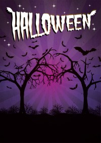 halloween posters to colour