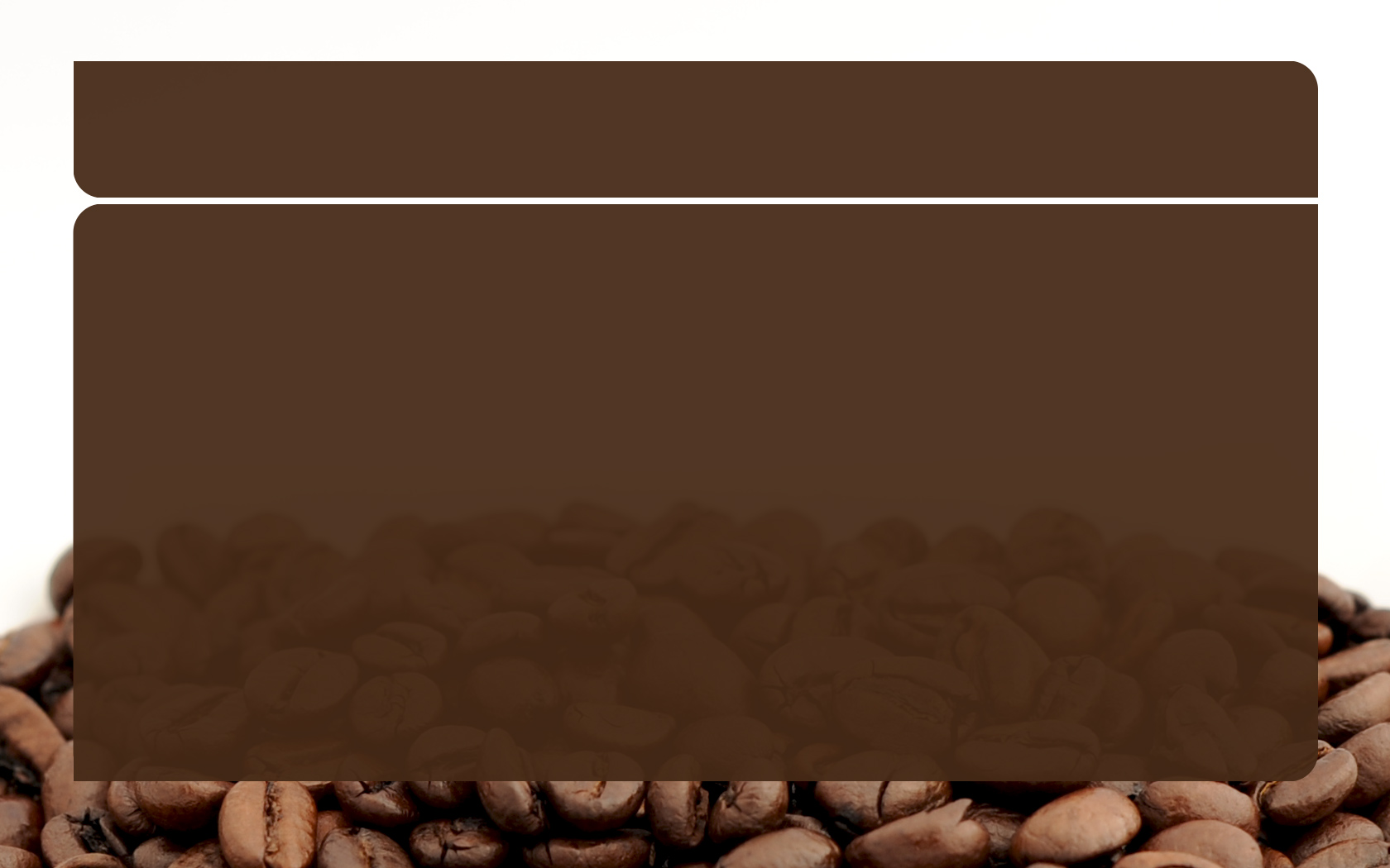 coffee powerpoint powerpoint template « ppt backgrounds templates, Presentation templates