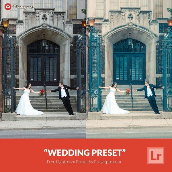 Preset Lightroom Wedding