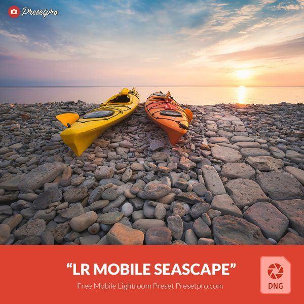 Preset Lightroom Seascape