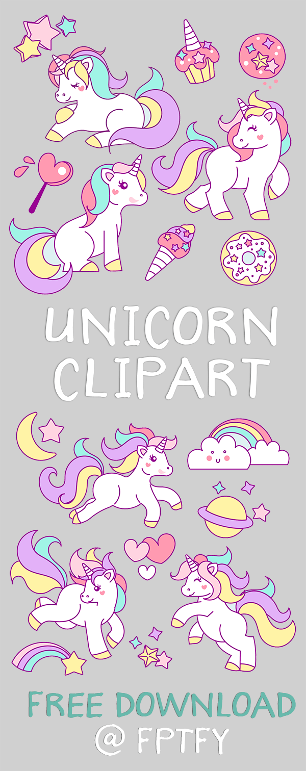 Free Hand Drawn Unicorn Clip Art Free Pretty Things For You