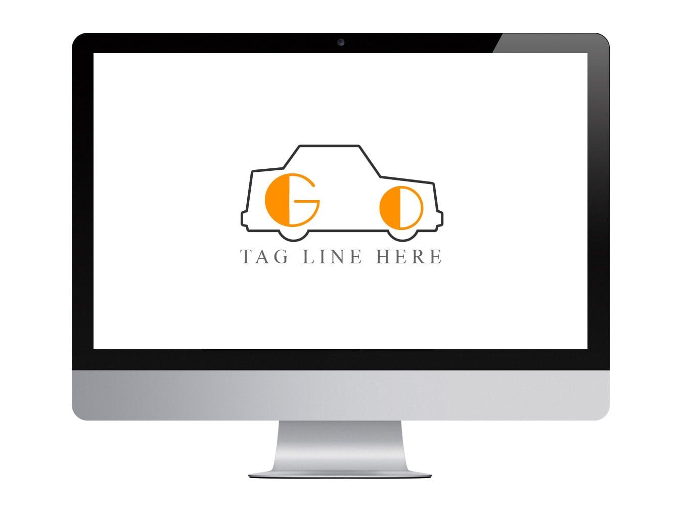 Cab logo free psd download