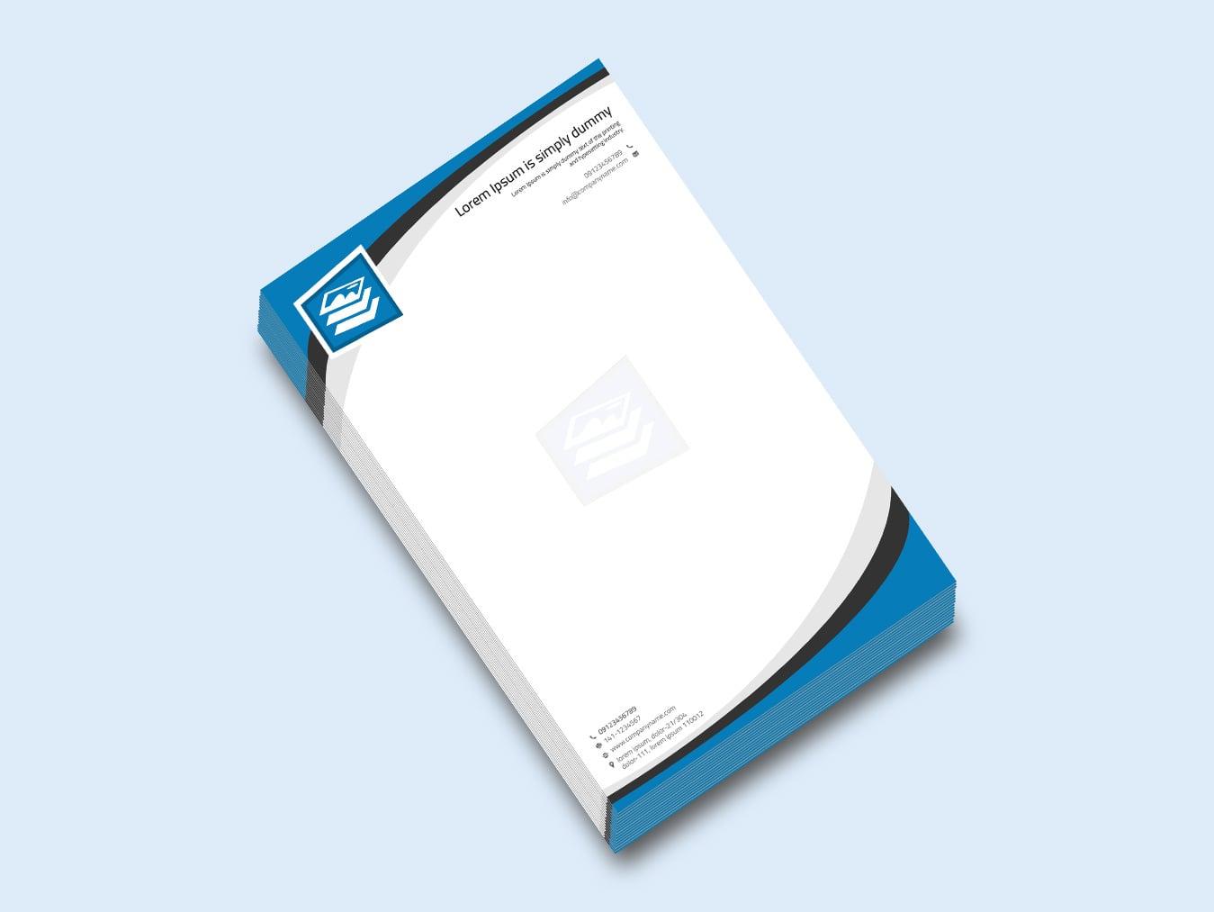 letterhead design vatoz atozdevelopment co