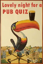 Wednesday is a lovely night for a pub quiz