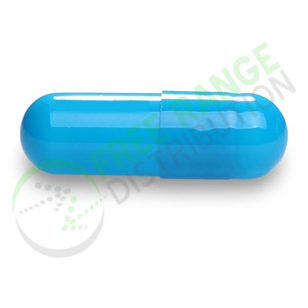Blue Gelatin Capsule Watermarked