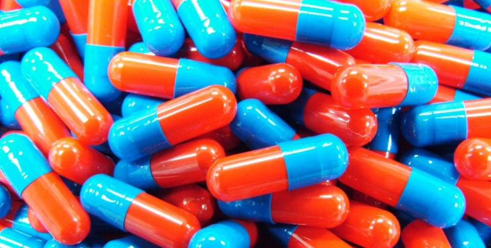 Red and Blue Capsules